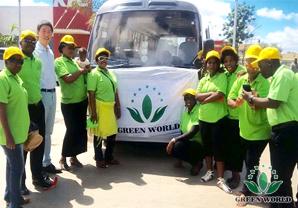 Market Express Green World Zambia Branch Successfully Organized