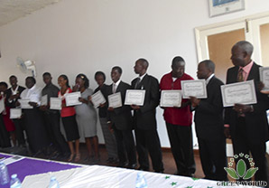 Market Express Green World Training For Team Of Trainers In Uganda