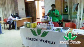 Green World Uganda Branch Was Invited To Attend Afmsd Exhibition ª