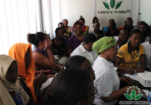 Market Express I C Green World Tanzania Branch Held A Serial Of